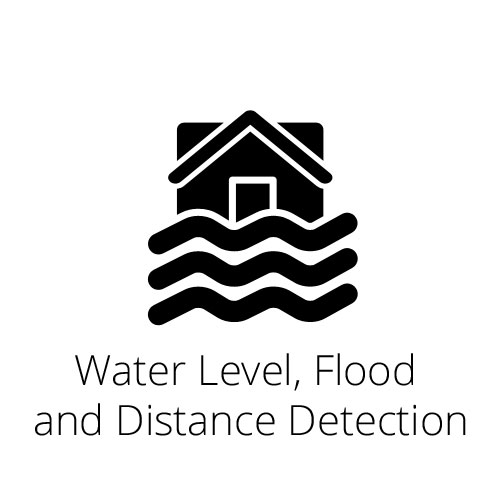 Water Level, Flood and Distance Detection