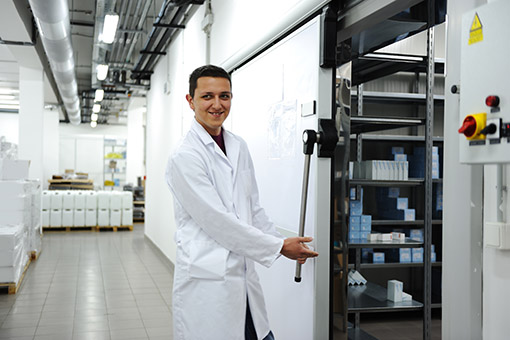 Thermal mapping for the pharmaceutical sector
