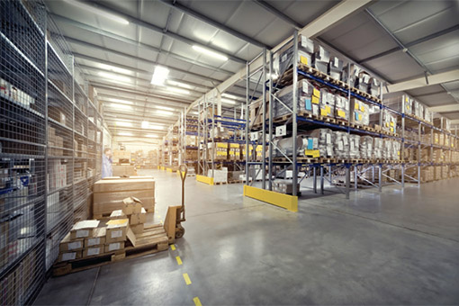 Thermal mapping for warehouses
