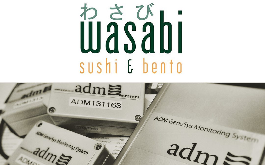 ADM install at Wasabi Sushi & Bento processing unit
